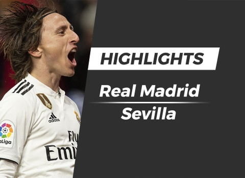 Highlights Real Madrid 2-0 Sevilla hinh anh