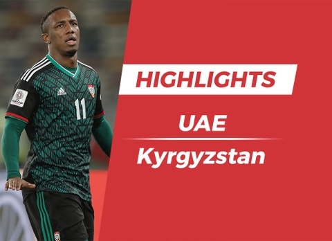 Highlights Asian Cup 2019: UAE 3-2 Kyrgyzstan hinh anh