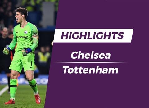 Highlights Chelsea 2-1 Tottenham (pen, 4-2) hinh anh