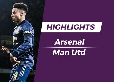Highlights Arsenal 1-3 Man Utd hinh anh