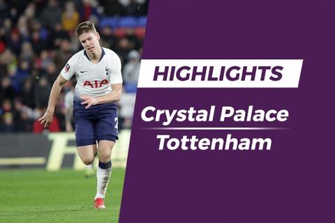 Highlights Crystal Palace 2-0 Tottenham hinh anh