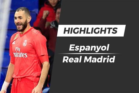 Highlights Espanyol 2-4 Real Madrid hinh anh