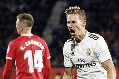 Highlights Girona 1-3 Real Madrid hinh anh