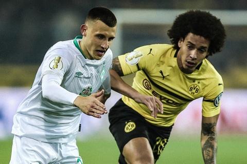 Highlights Dortmund 3-3 Wender Bremen (pen, 2-4) hinh anh