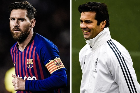 HLV Real khong ban tam Messi co the da El Clasico hinh anh