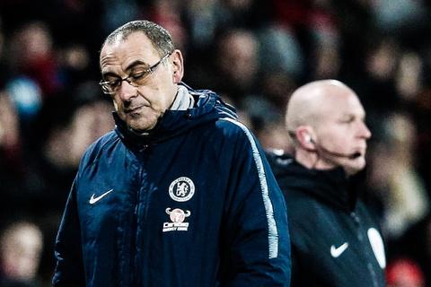 HLV Sarri: 'Muc tieu cua Chelsea chi la vao top 4' hinh anh
