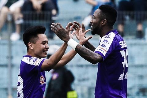 Highlights CLB Ha Noi 2-0 Binh Duong hinh anh