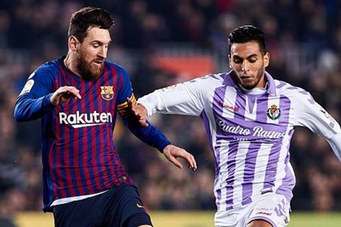 Highlights Barcelona 1-0 Real Valladolid hinh anh