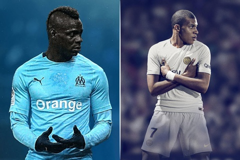 Mbappe, Balotelli lot danh sach ghi ban thang dep vong 25 Ligue 1 hinh anh
