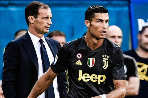 Thua Atletico, HLV Juventus van khen Ronaldo choi tot hinh anh