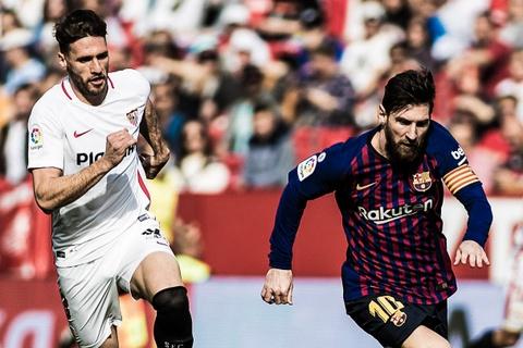 Highlights Sevilla 2-4 Barcelona hinh anh