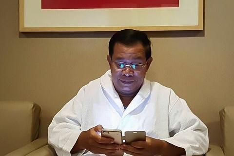 Thu tuong Hun Sen: Khong dung ung dung chat, khong duoc bo nhiem hinh anh
