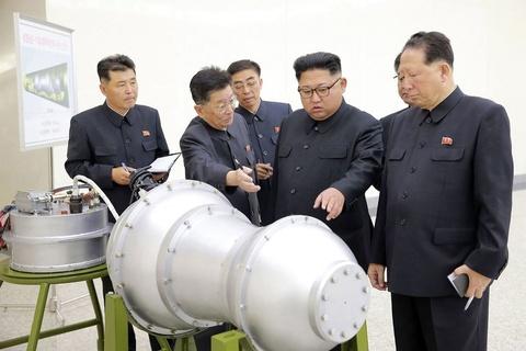 Nhat, Han keu goi trung phat manh tay sau khi Trieu Tien thu bom H hinh anh