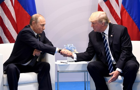 Nga, My de ngo kha nang gap go Trump - Putin ben le APEC o VN hinh anh