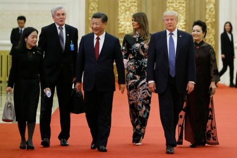 Tong thong Trump du quoc yen do Chu tich Tap thet dai hinh anh 1