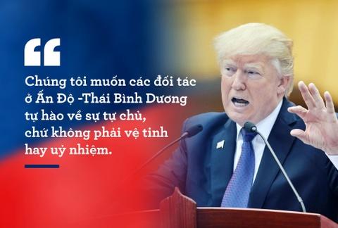 10 phat bieu an tuong cua TT Trump trong chuyen tham VN hinh anh