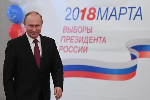 Bau cu Nga 2018: Tong thong Putin di bo phieu o Moscow hinh anh 4