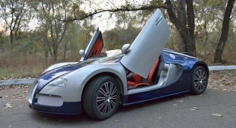 Bugatti Veyron nhai voi cua cat keo Lamborghini hinh anh