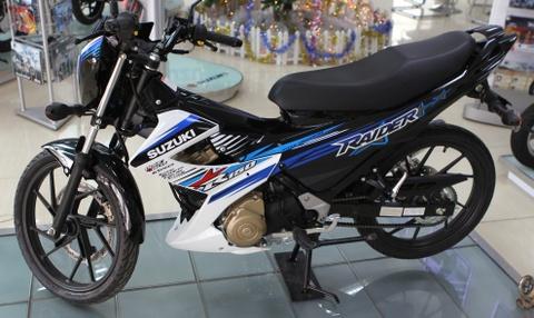Anh chi tiet Suzuki Raider R150 mau moi vua ban o VN hinh anh