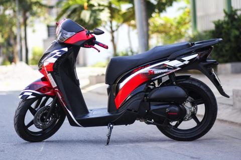 Honda SH 2010 son tem dau cua biker Sai Gon hinh anh