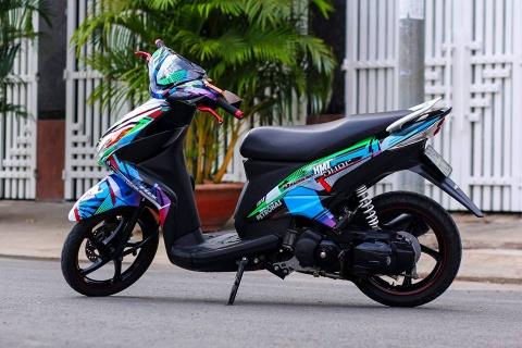 Yamaha Luvias son tem dau phong cach xe dua hinh anh