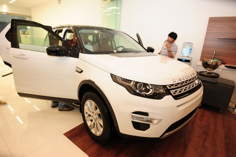 Land Rover Discovery Sport 2015 ra mat o Viet Nam hinh anh