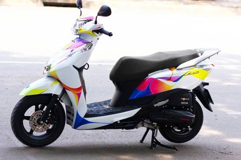 Honda Lead 125 voi dai chuyen mau dieu da hinh anh