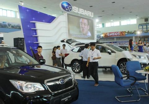 vietnam auto expo 2015 hinh anh