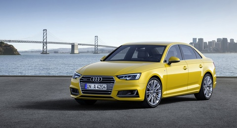 Audi A4 2016 co truc co so dai hon the he cu hinh anh