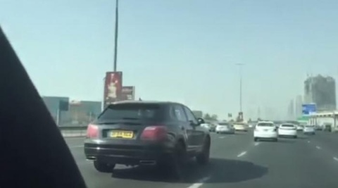 Bentley Bentayga 2016 chay thu o Dubai hinh anh