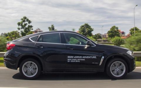 BMW X6 2015 may dau tieu thu nhien lieu the nao? hinh anh