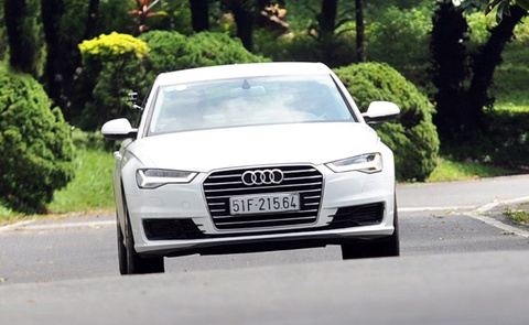 audi a6 2015 hinh anh
