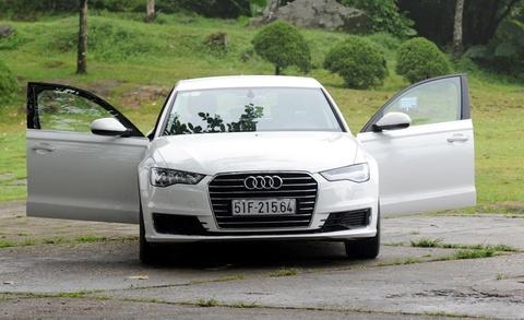 Trai nghiem Audi A6 2015 o Ha Noi hinh anh