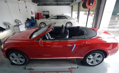 bentley continental gt convertible w12 hinh anh