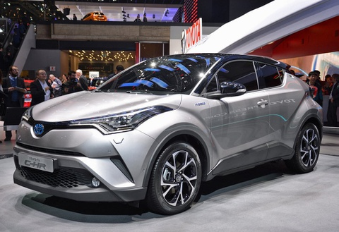 Toyota trinh lang crossover the thao C-HR hinh anh