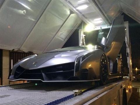 Can canh sieu xe Lamborghini Veneno hinh anh