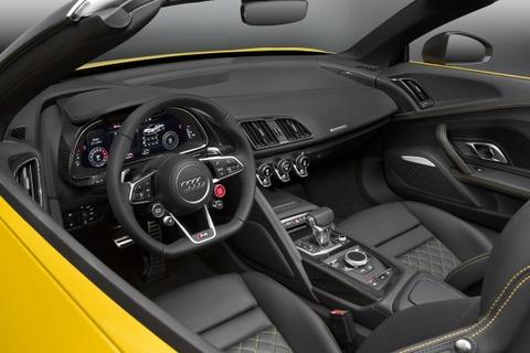 Audi R8 Spyder V10 2017 ra mat o trien lam New York hinh anh 4