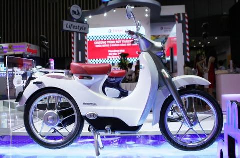 Chi tiet concept Honda EV-Cub chay dien vua ve Viet Nam hinh anh 1