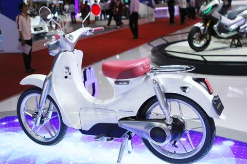 Chi tiet concept Honda EV-Cub chay dien vua ve Viet Nam hinh anh 2