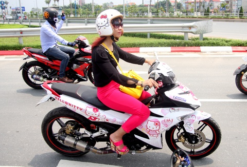 hinh anh dan exciter 150 o ha noi hinh anh