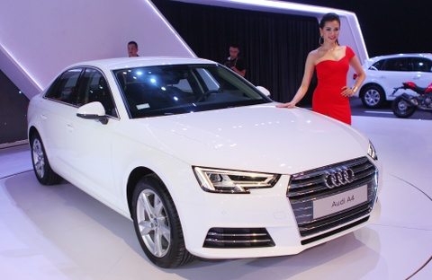 Can canh Audi A4 2016 gia tu 1,65 ty dong o Viet Nam hinh anh