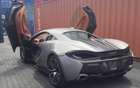 Xe the thao McLaren 570S dau tien ve Viet Nam hinh anh