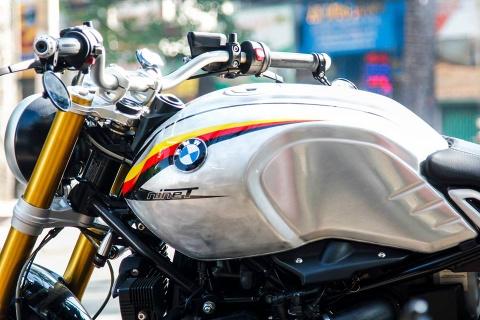 BMW R nineT son tem co Duc cua biker Sai Gon hinh anh