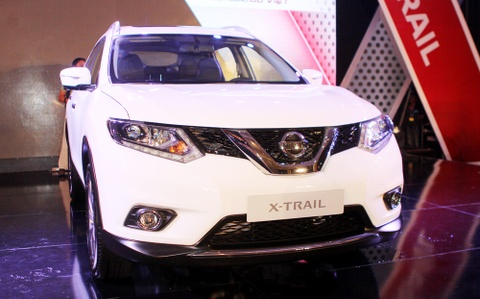 nissan x trail 2016 ve viet nam hinh anh