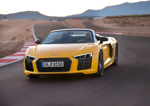 Audi R8 V10 Spyder 2017 den My voi gia tu 175.000 USD hinh anh