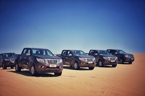 Nissan Navara 2017 co gia ban tu hon 20.000 USD o Trung Quoc hinh anh