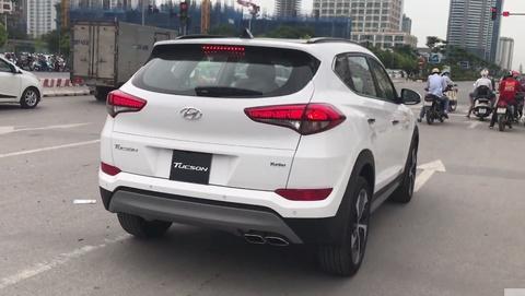 Hyundai Tucson Turbo lap rap trong nuoc xuat hien o Ha Noi hinh anh