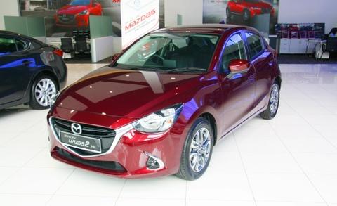 Mazda 2 2017 GVC co gia tu 470 trieu dong o Malaysia hinh anh
