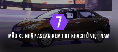 7 mau xe nhap khau ASEAN ban cham o Viet Nam hinh anh 1