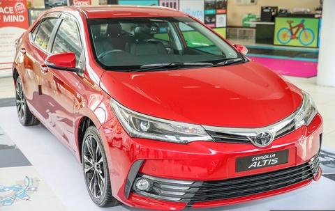 Toyota Corolla Altis 2017 co gia hon 28.000 USD o Malaysia hinh anh